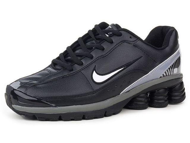 finest selection f6dac 96278 Chaussures Nike Shox R6 Argent  Blanc  Noir  Gris  nike 12296  - €
