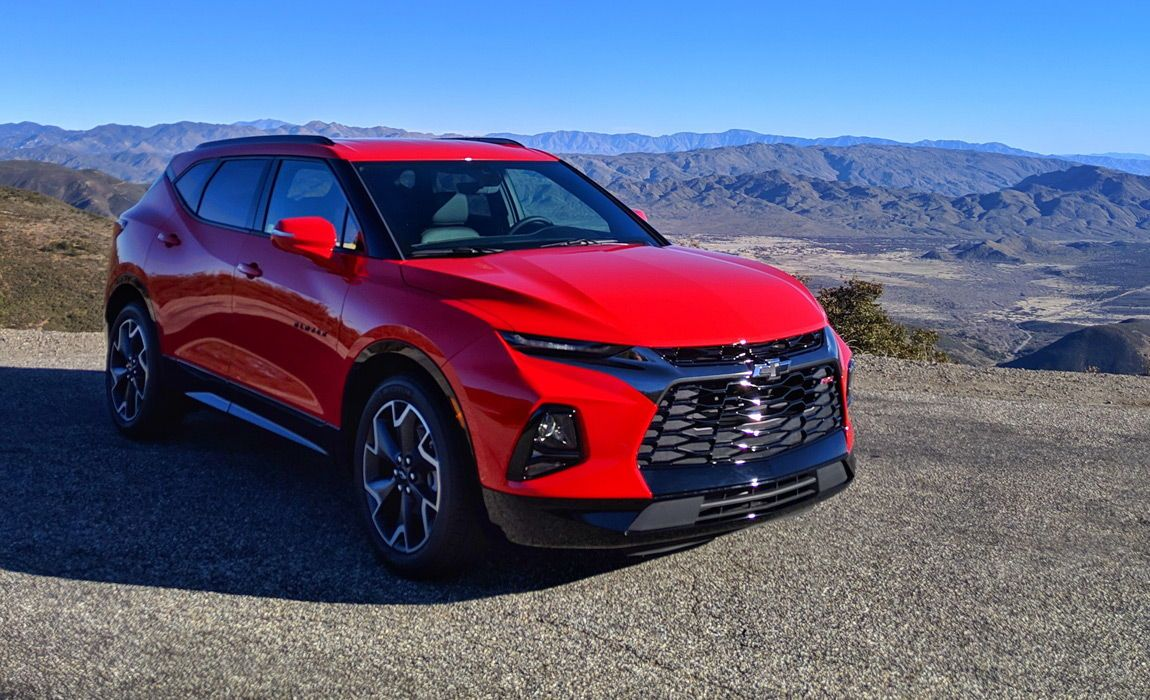Chevy Blazer First Drive Impressions And Review Chevy Suv Sport