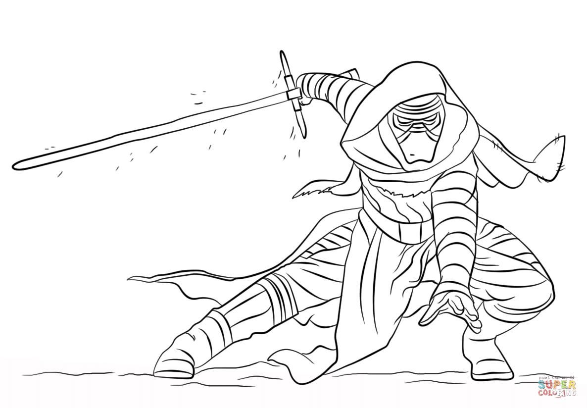 http://colorings.co/kylo-ren-coloring-pages/   Colorings ...