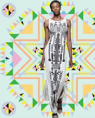 Ethnic Fusion --- South African designer Sindiso Khumalo