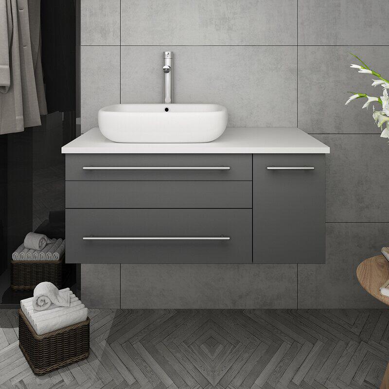 Modern Bathroom Cabinets, Bathroom Vanities Wayfair