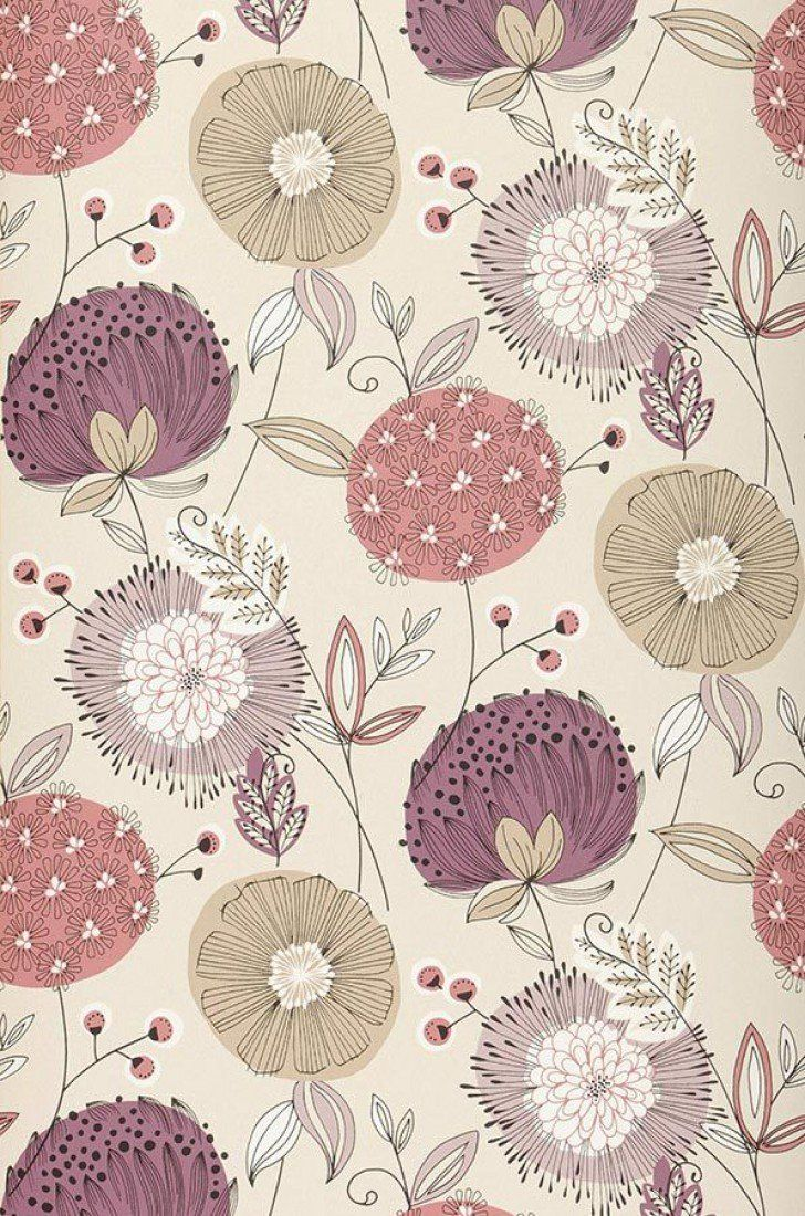 Flower Pattern Wallpaper Interesting Design Inspiration