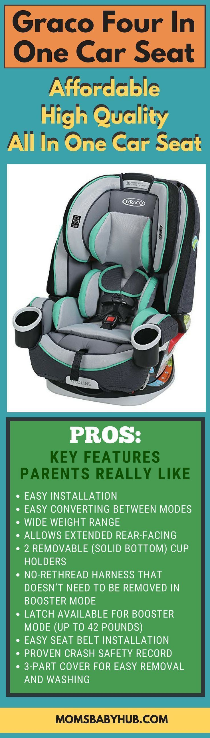 Graco 4 in 1 Car Seat Review in 2020 Car seats, New baby