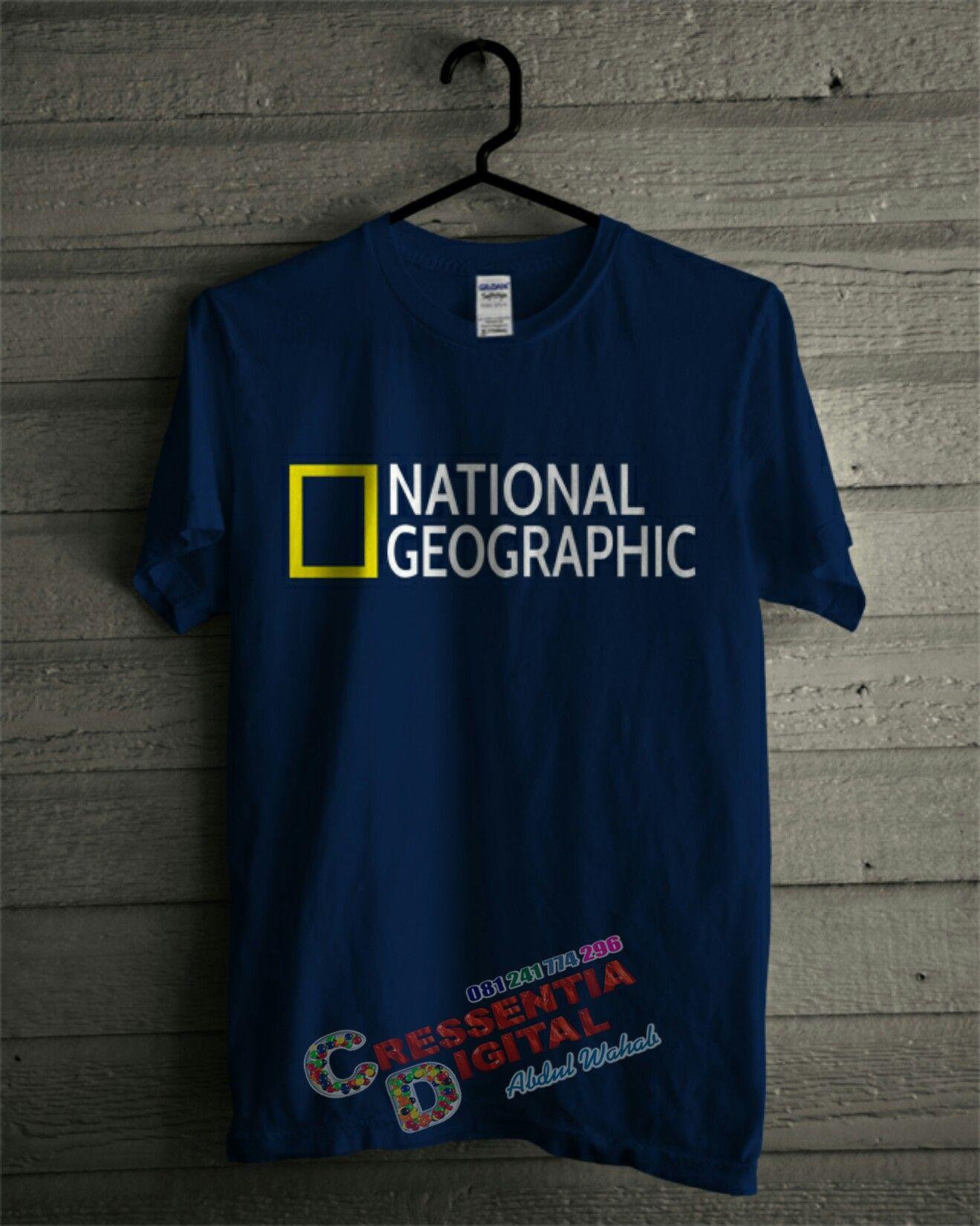 Kaos NATIONAL GEOGRAPHIC Tampil Trendi 085b5fe010