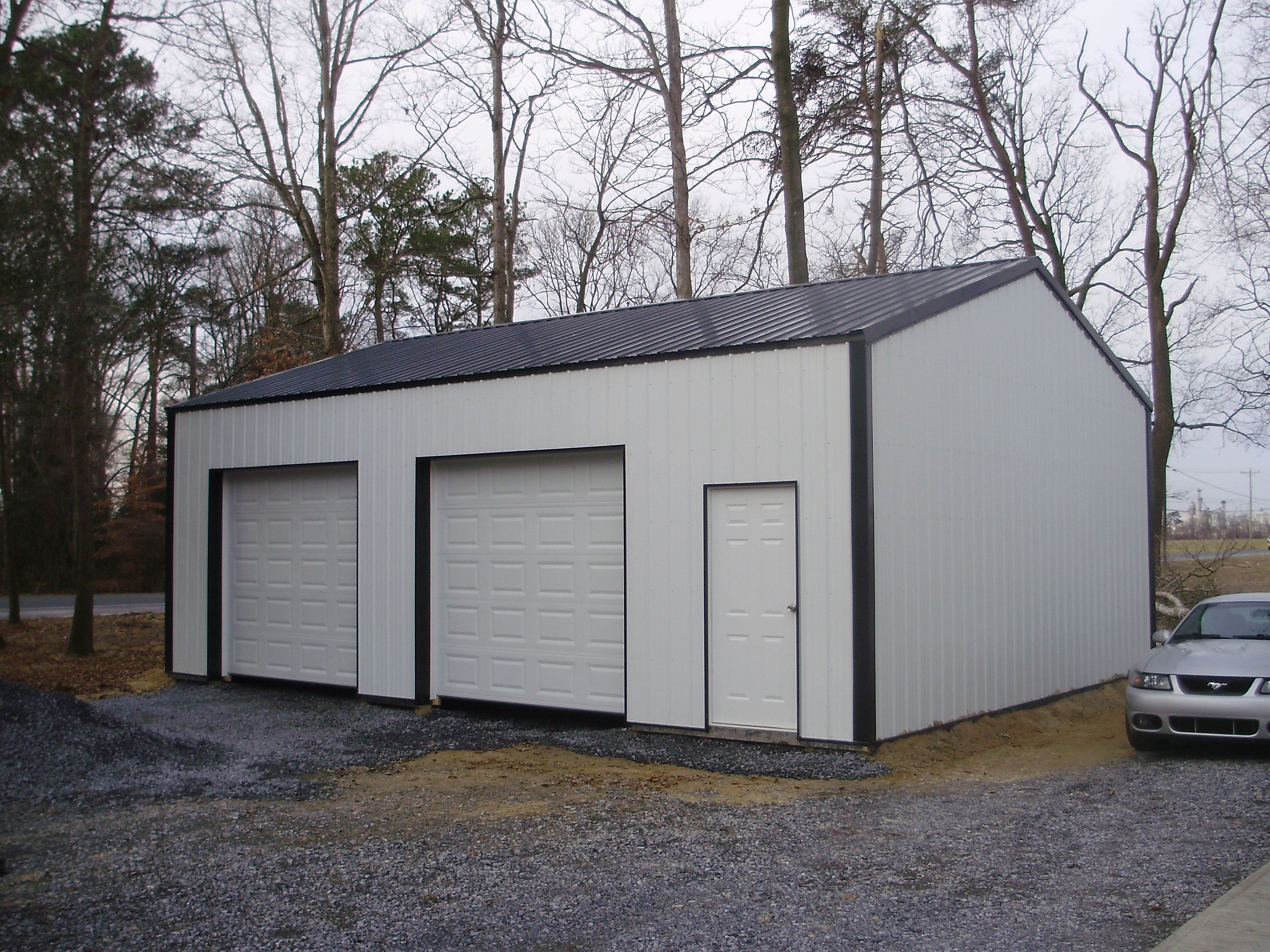 24 W X 32 L X 10 4 Quot H Pioneer Pole Buildings Garage