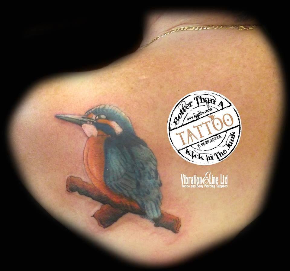 Chunky Little Kingfisher Piece Laser tattoo, Dream