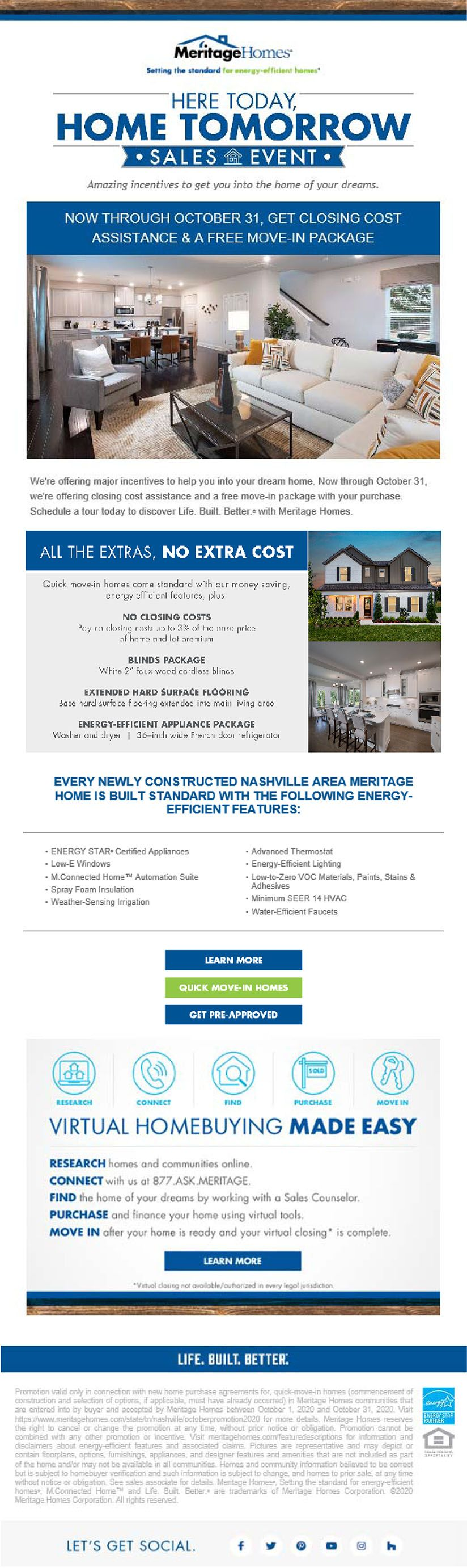 Fall In Love With These Deals At Meritage Homes In 2020 New Homes For Sale Home Buying New Homes
