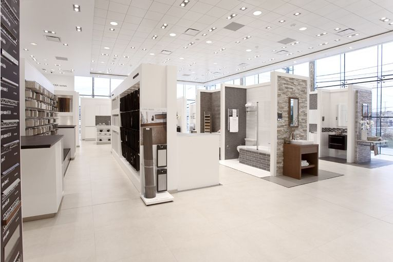 Great Showroom Layout With Vignettes Its Very Movable