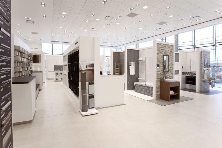 Porcelanosa Grupo Abre Su Primer Showroom En Filadelfia Design Center Showroom Showroom Interior Design Tile Showroom