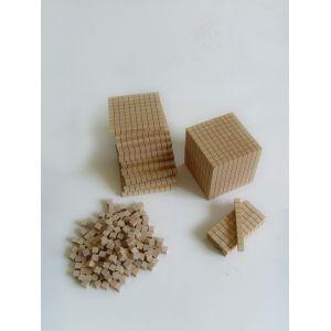 set de numération en bois