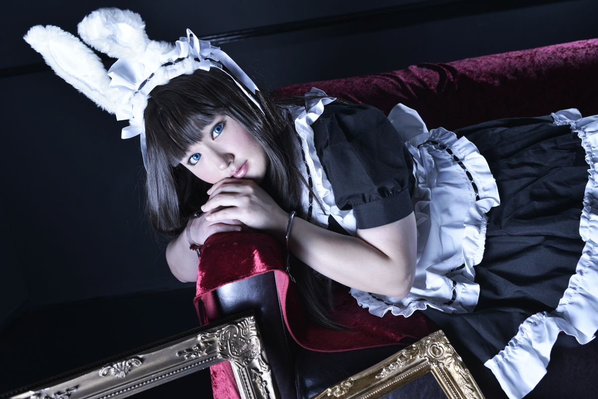 ウサ耳メイド - RAIKI(らいき) Original maid Cosplay Photo - Cure WorldCosplay