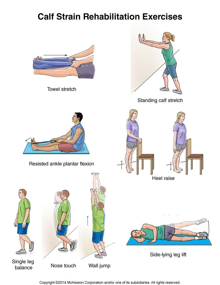 Summit Medical Group Calf Strain Exercises Work Outs