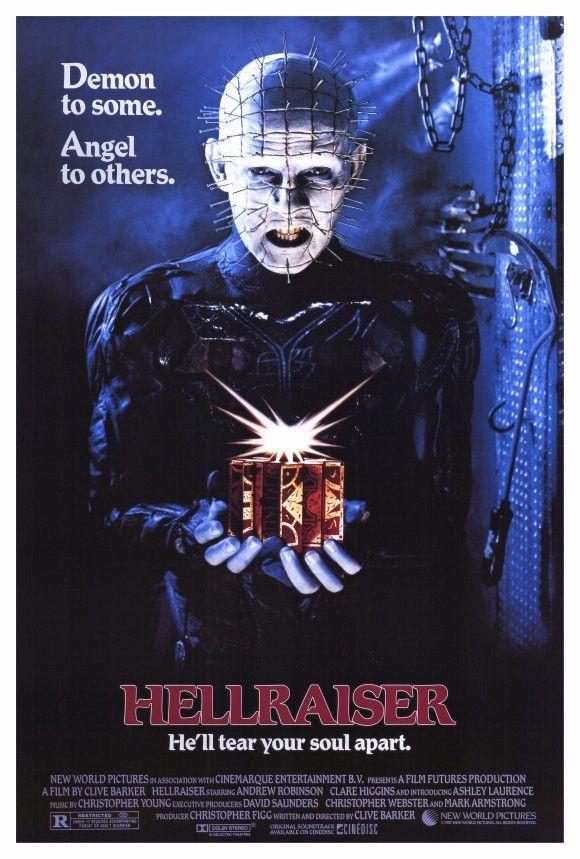 Hellraiser 27x40 Movie Poster (1987)