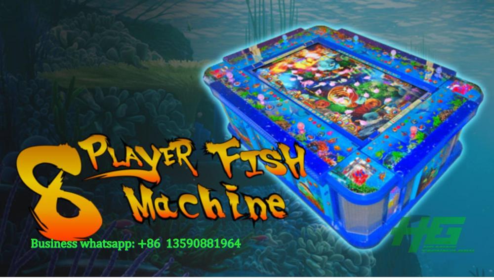 2020 Newest Popular Us Market Igs Original Fishing Game Machine