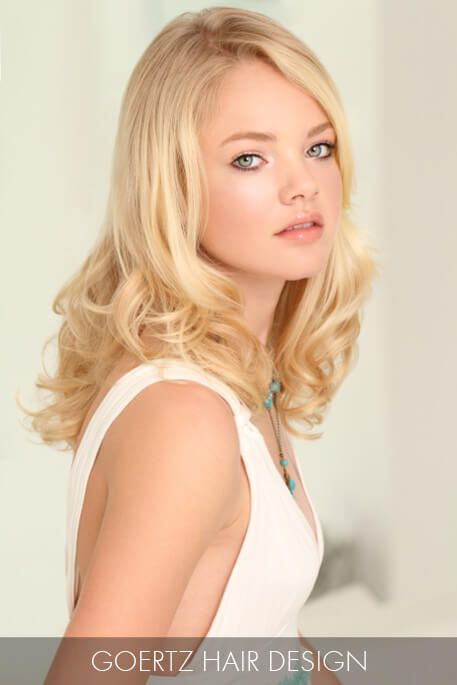 15 Of The Hottest Haircuts Right Now: #1 Buttery Blonde Waves ...