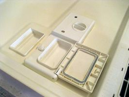 How To Fix A Dishwasher Soap Dispenser Ehow Dishwasher Soap Clean Dishwasher Soap Dispenser