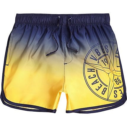 40cffa34bccbb Boys ombre runner swim shorts in 2019 | Products | Swim shorts, Swim ...