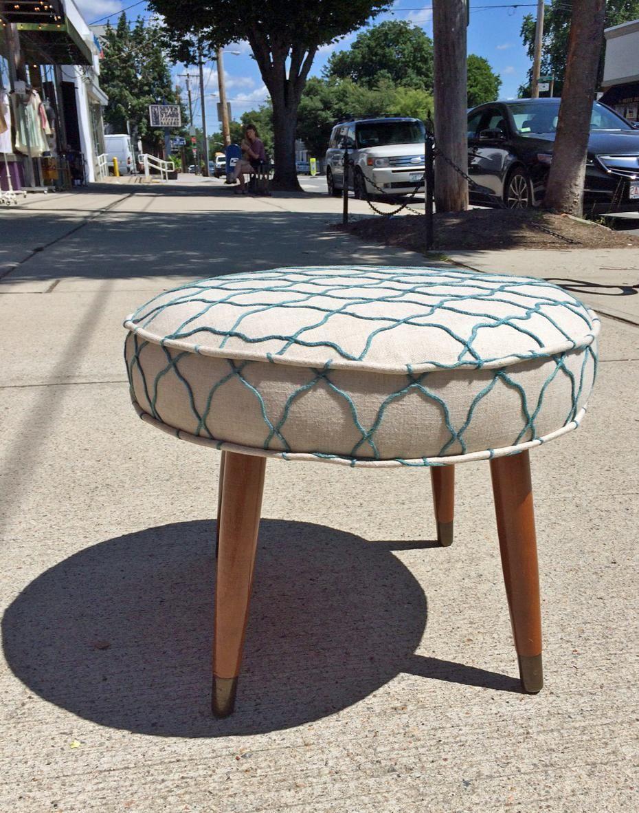 Kreatelier On Small Footstool Decor Upholstery