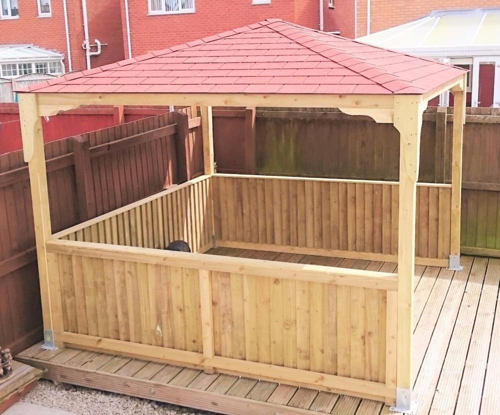 Wooden gazebo hot tub gazebo wood gazebo smoking for Hot tub shelters