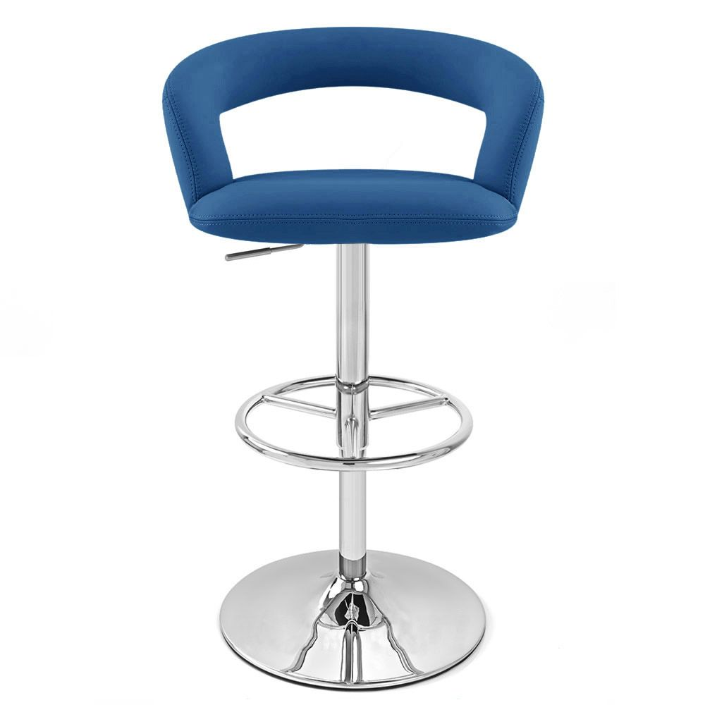 Monza Dark Blue Bar Stool Delete Blue Bar Stools Bar Stools Contemporary Bar Stools