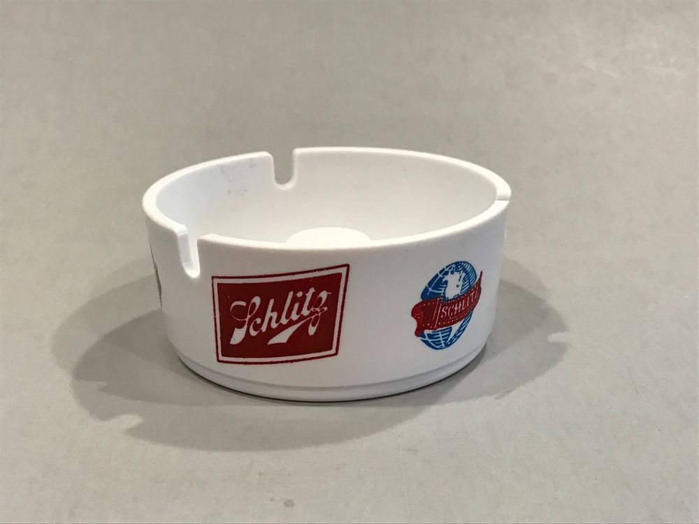 Vintage Coors Light Silver Bullet Ashtray Promotional Advertising Barware