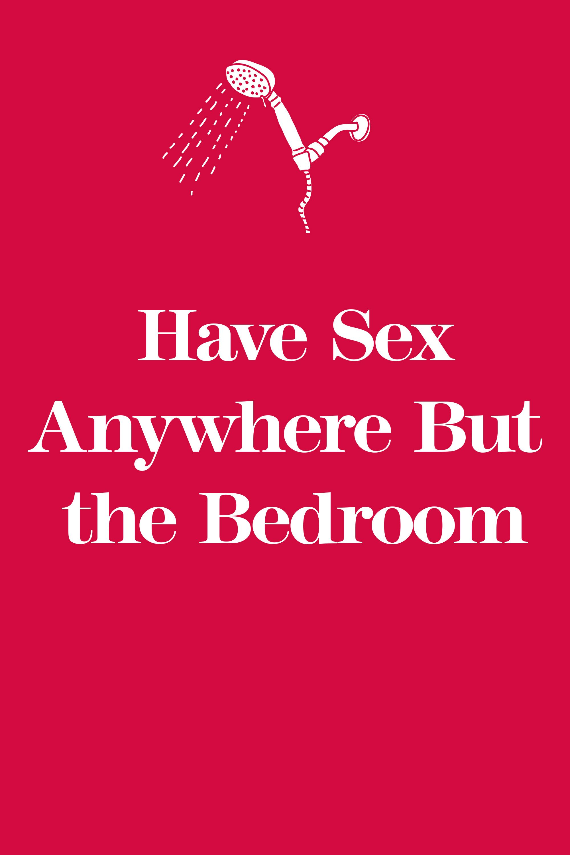 Ideas to spice up sex