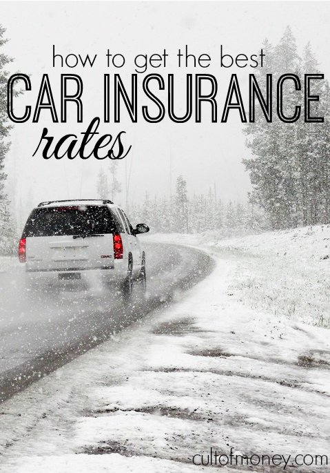 How To Get The Best Car Insurance Rates Best Car Insurance Rates