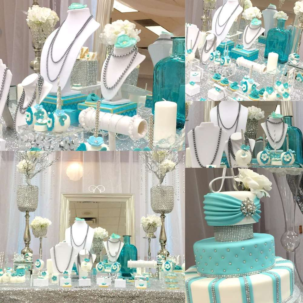 Tiffany Themed Party For Keira S 18th Birthday: Tiffany & Co. Quinceañera Party Ideas