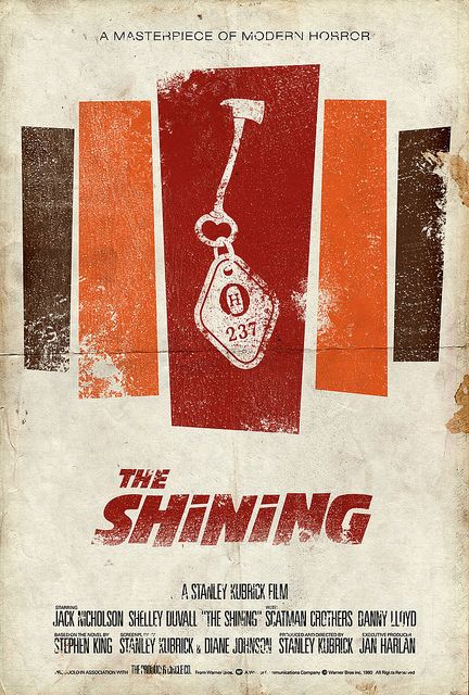 Vintage Movie Poster The Shining Movie Posters Vintage Movie Posters Design Scary Movies