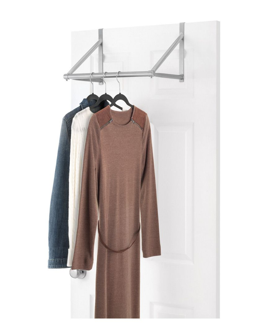 Whitmor Over The Door Closet Rod Is On Rue Shop It Now Dorm Closet Garment Racks