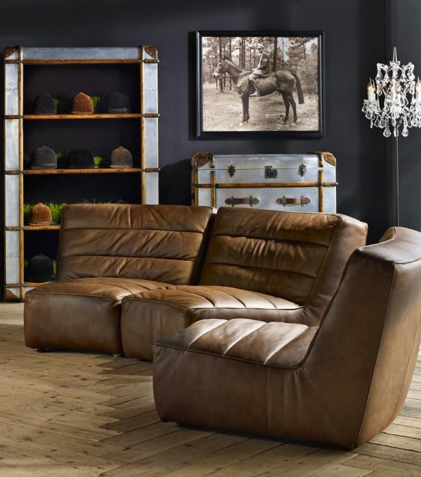 A Real Sloucher The Shabby Curved Sofa Is Beautifully Designed In Vintage