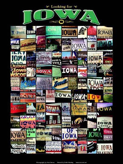 Iowa It S All In The Name Iowa State Art Prints