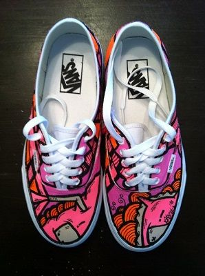 Hand Vans ShoesNew By Painted Custom Sneakers Sloth stQrhd