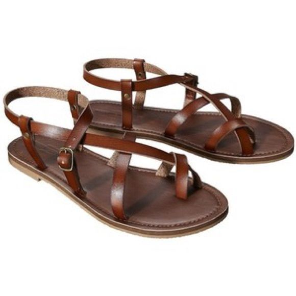 2f89e2f2b Sandals Brown gladiator sandals! Barley worn and in good condition. Very  comfortable