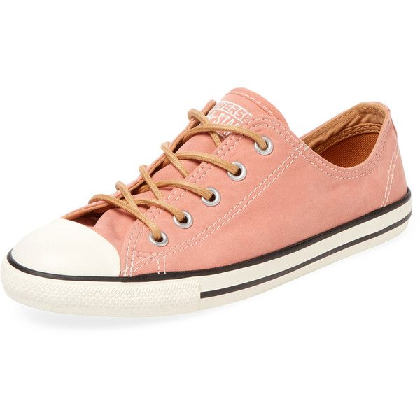 0ff67a530059 Converse Women s Chuck Taylor All Star Canvas Low-Top Sneaker - Pink ...