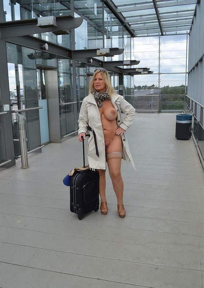 Airport nude scenes