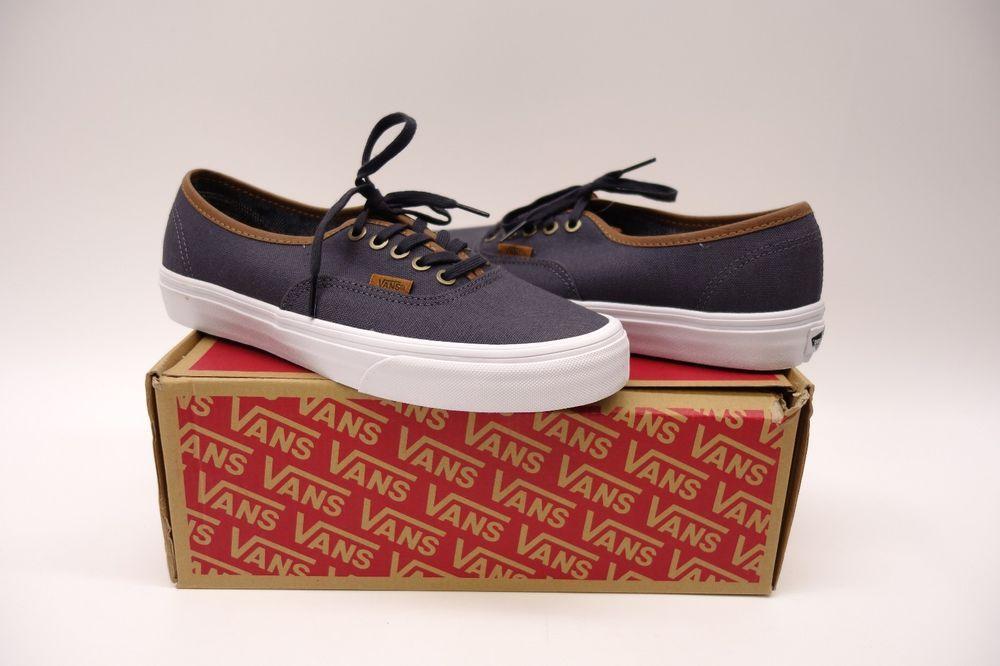 a9632e078a New Vans Authentic C L Periscope Sneaker gray Shoes Womens Size 9 mens Size  7.5  VANS