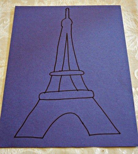 Eiffel Tower Craft Eiffel Tower Craft Paris Crafts Eiffel