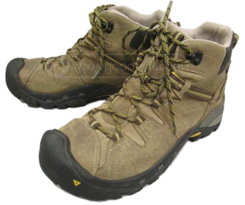 491ab81378a Keen Men's Klamath Tan Leather Hiking Boots, Size 10.5 ...