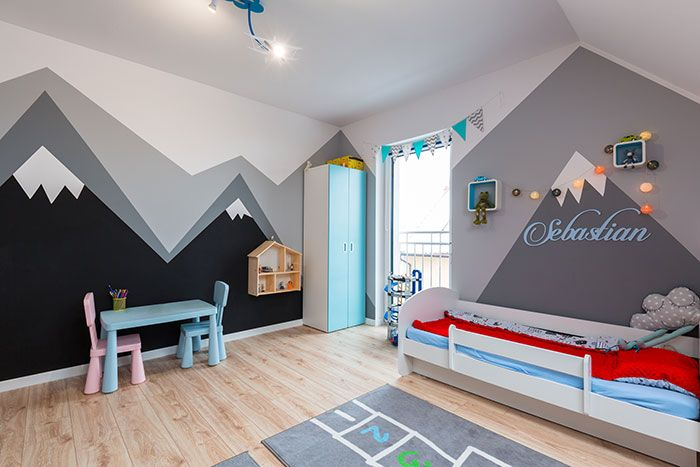 27 Funky Geometric Designs to Paint on the Wall in Your ...