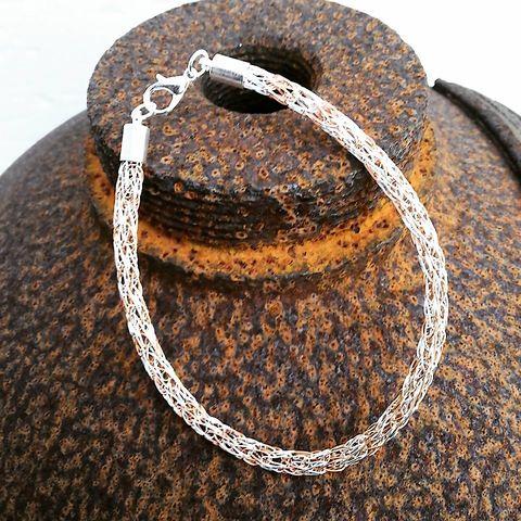 """Viking Knit - Armband """"Stripes"""""""