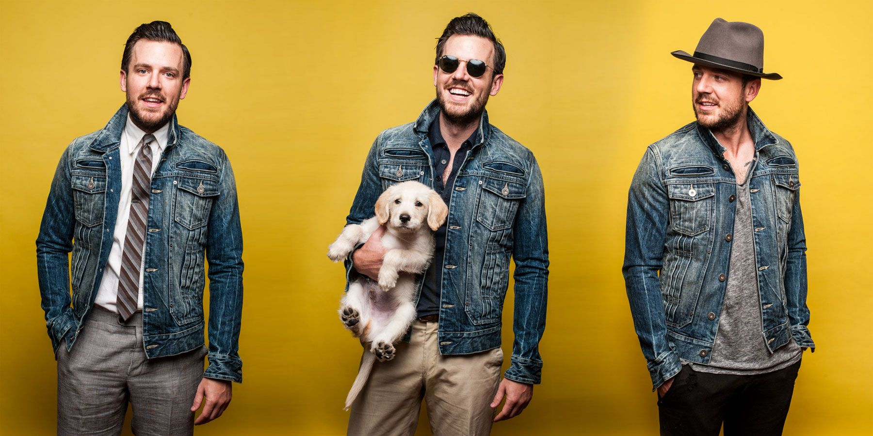 How It Should Fit: The Denim Jacket | Articles of Style | Menswear ...