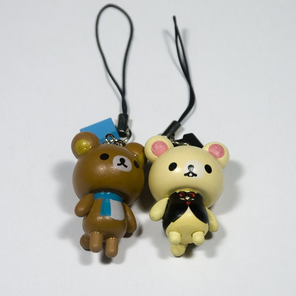 Bear's Family-1 - Cell Phone Charm Strap / Camera Charm Strap / Handbags Charms