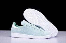 watch f0817 49b68 Womens Adidas Originals Stan Smith Suede Tiffany Blue White ...