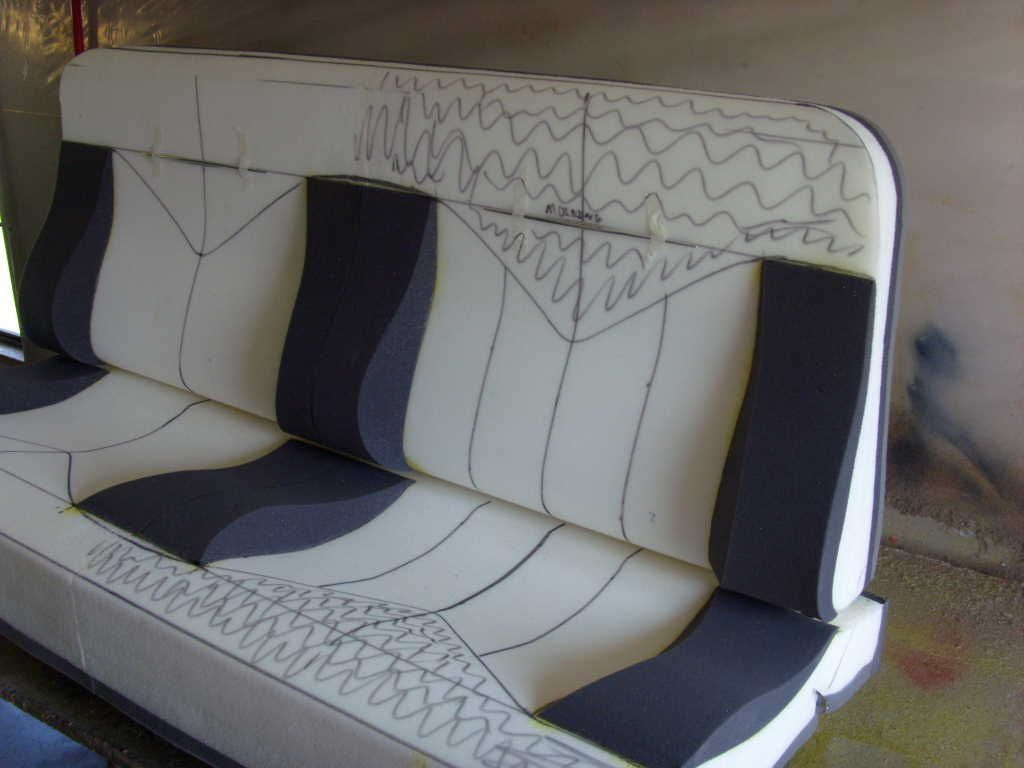 Where Can I Buy A Hot Rod Style Bench Seat Ford Truck