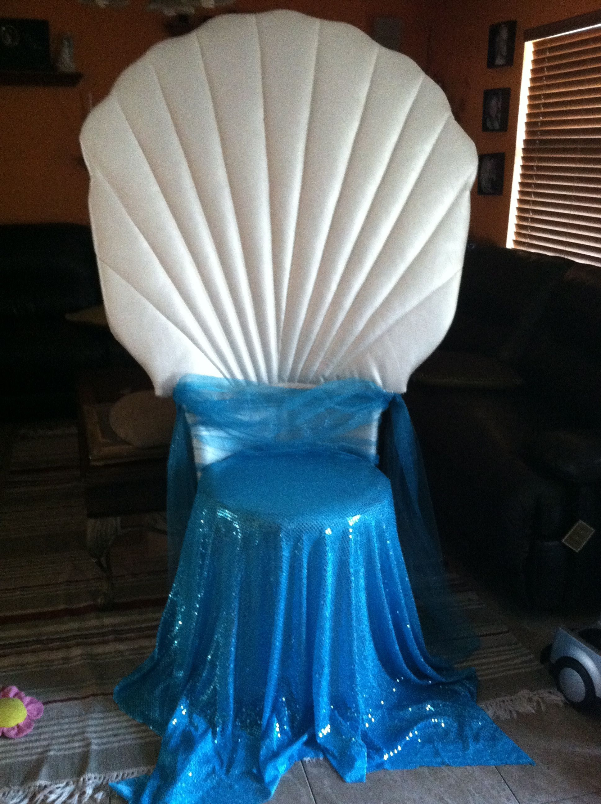 The Mermaid Chair Rocking Chairs For Baby Room Clam Available Local Rental Under Sea