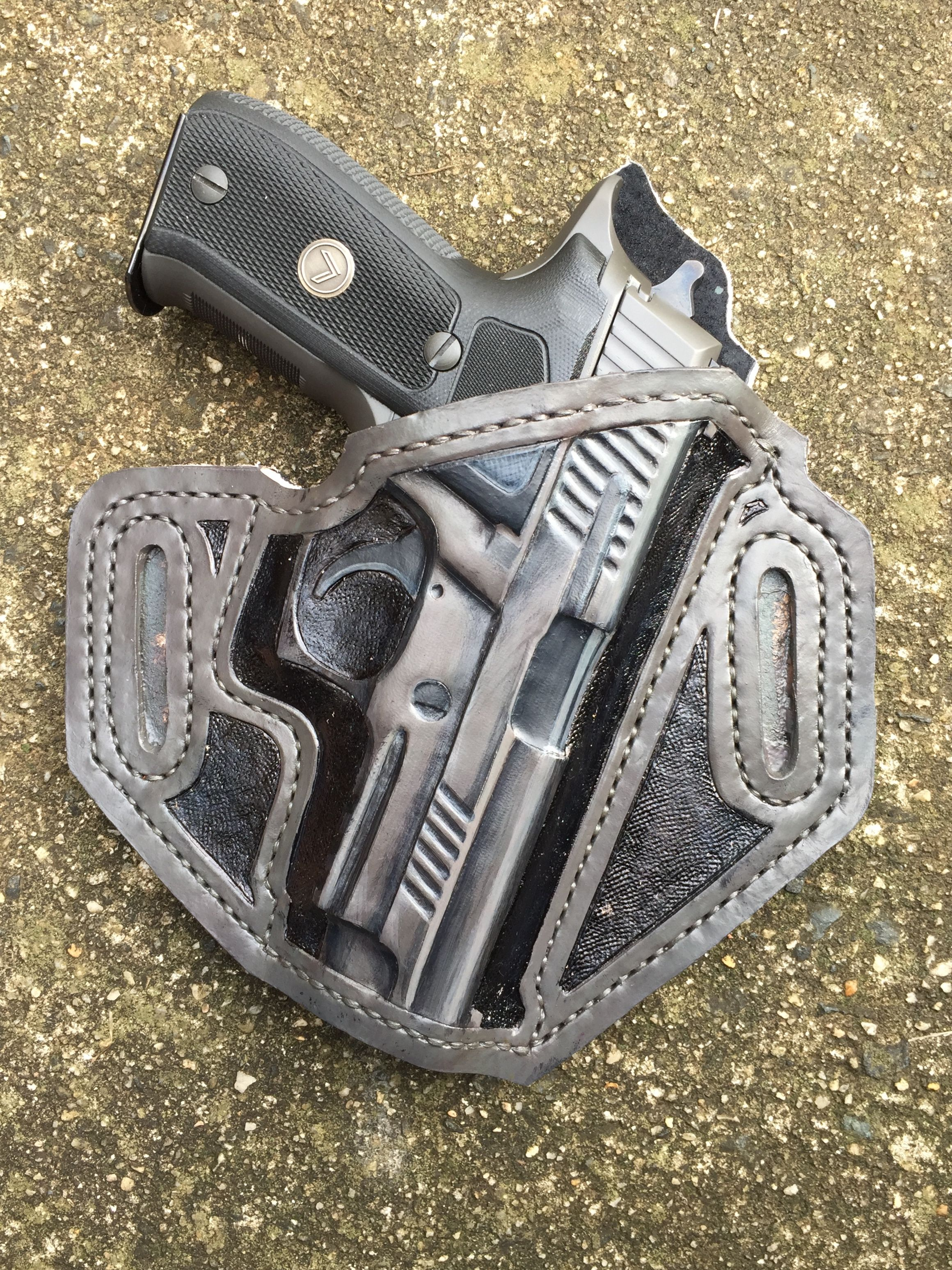 timeless design 4db23 b7749 Sig Sauer P226 Legion Holster. TS Custom Leather