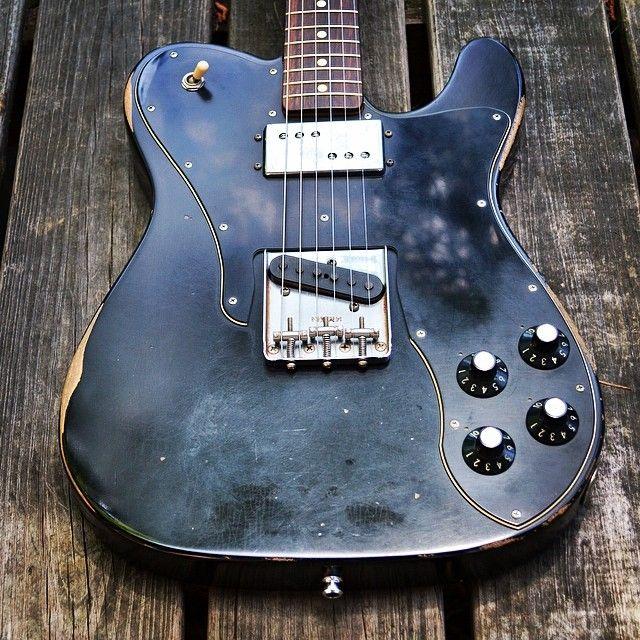Fender Road worn \'72 Telecaster Custom   vintage & modern guitars ...