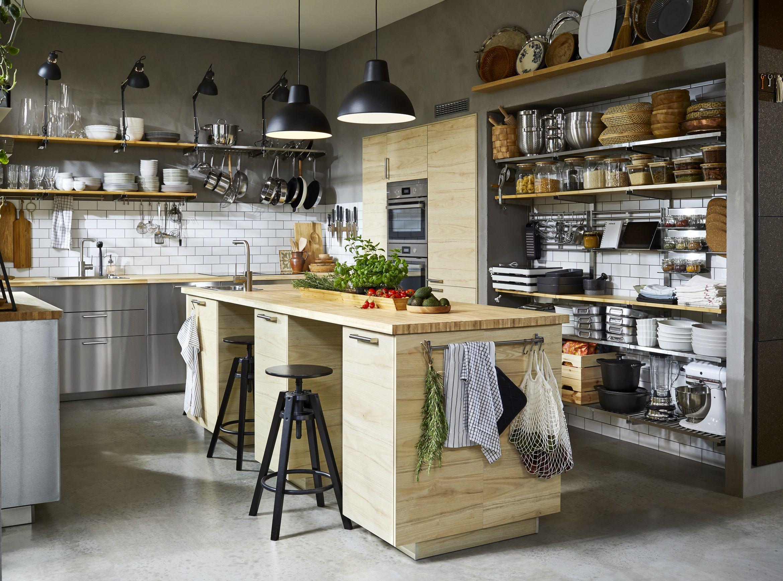 2021 Ikea Catalog Eight Design Ideas To Try Now In 2020 Industrial Style Kitchen Ikea Kitchen Kitchen Fittings