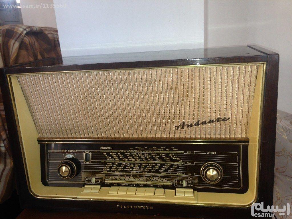 رادیو قدیمی تلفن کن